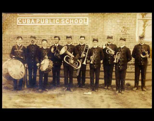 Vintage Cuba High School Band