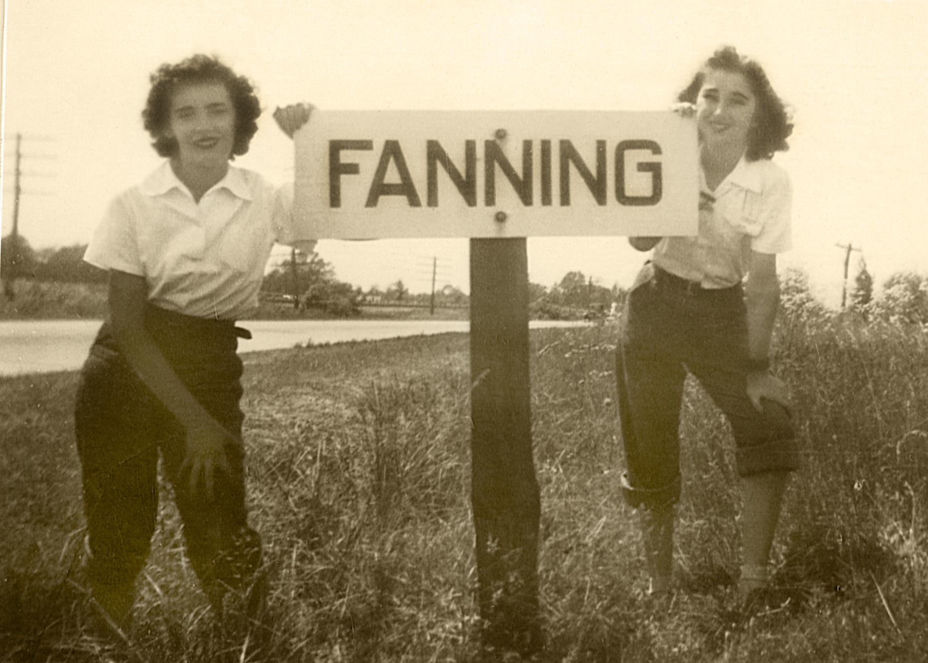 Marina Espen and Louise Vitali 1944 Fanning, Mo