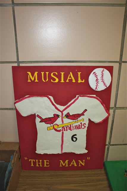Stan Musial and Cardinal exhibit in Cuba, Missouri