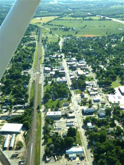 Route 66 in Cuba, Missouri