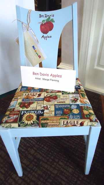 Ben Davis Apple Chair