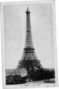 For most, seeing the Eiffel Tower would be a thrill. But  soldier George Smith had other thoughts on his mind.
