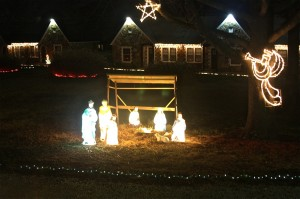 Nativity scene at the Wagon Wheel Motel Cuba, Mo