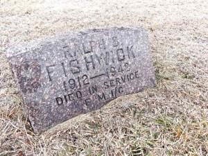 Ralph Fishwick gravestone