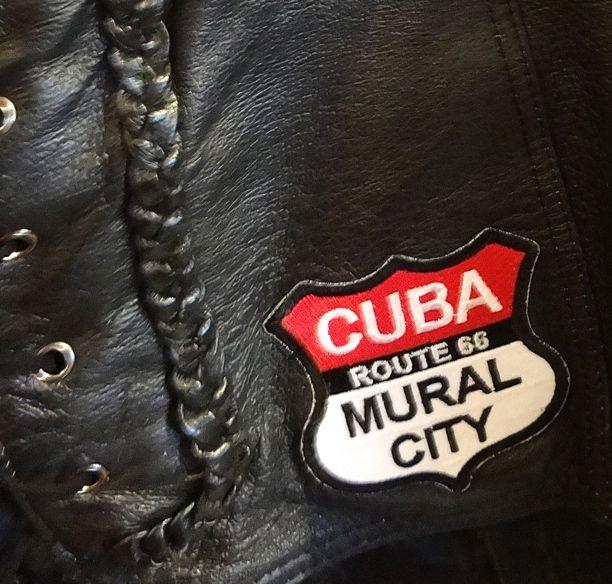 Viva Cuba's new patch replicates our Mural City Logo.