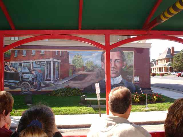 """Sit back and listen to the """"stories behind the murals"""" as our vintage trolley travels the streets of Cuba's historic district."""