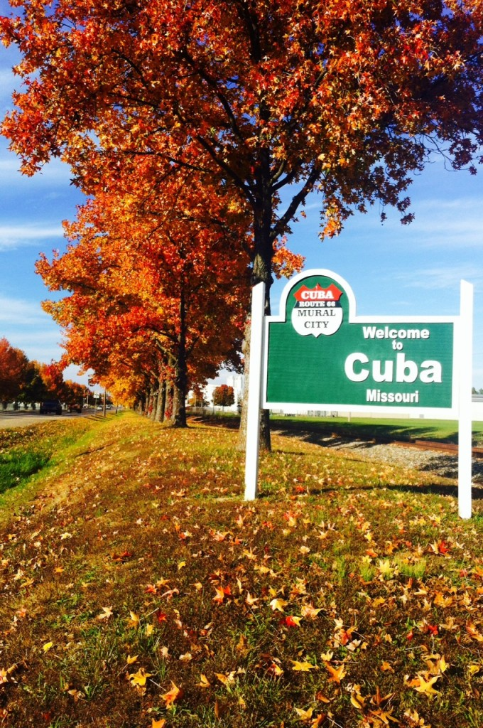 Our Town--Cuba in the fall