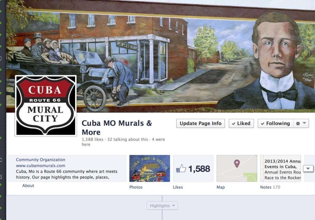 Read about Cuba, Missouri on Viva Cuba's Facebook page.