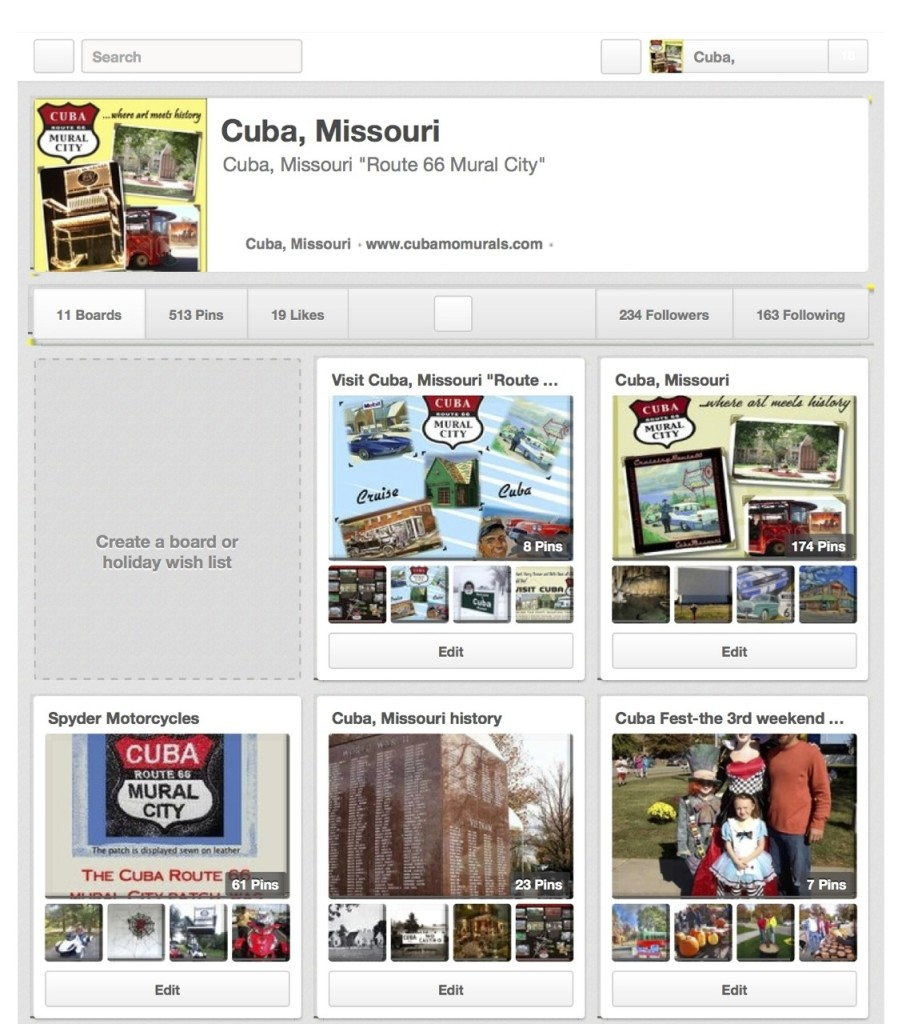 Cuba, Missouri on Pinterest