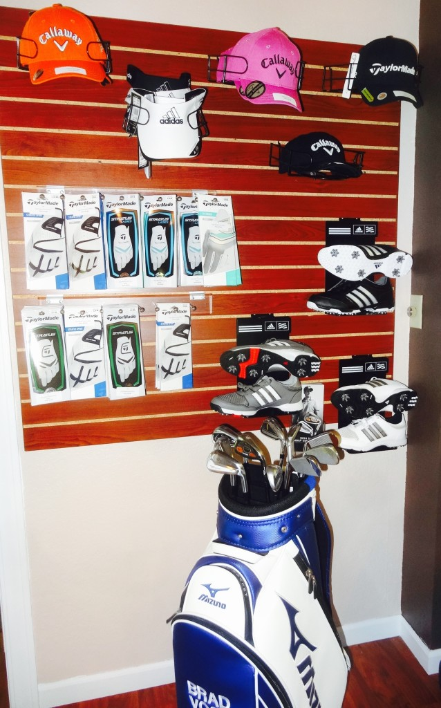 """The Pro Shop has the latest """"must have"""" for the golfer."""