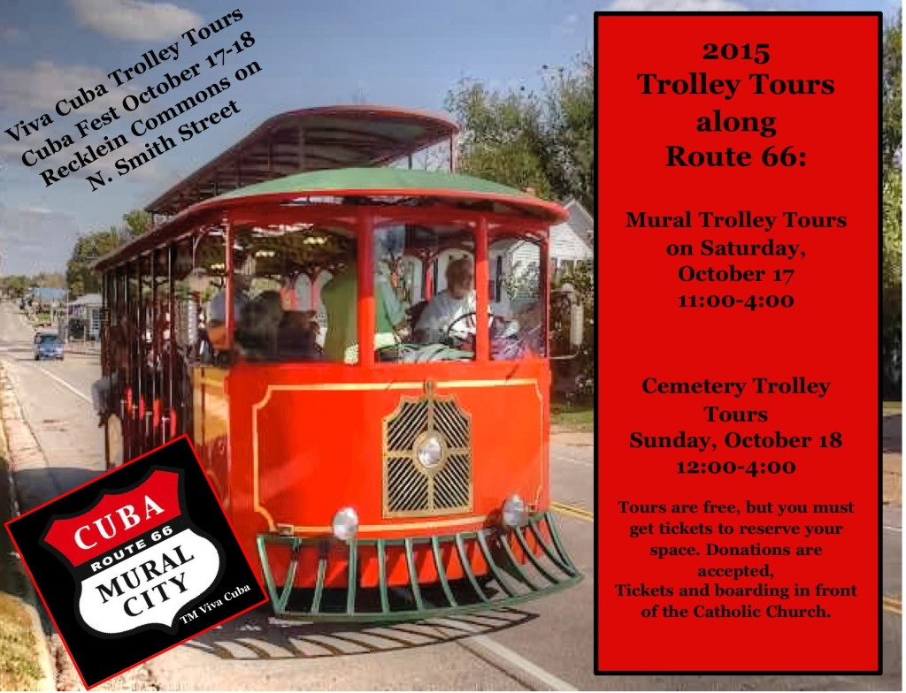 Trolley Tour donations to be matched by an anonymous donor.