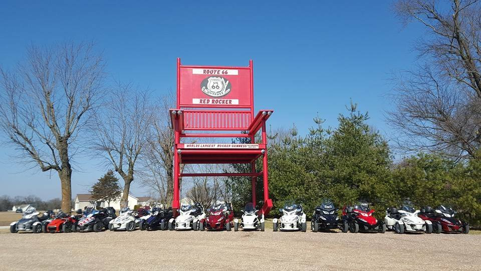 Brilliant From Worlds Largest To The Route 66 Red Rocker Cuba Mo Alphanode Cool Chair Designs And Ideas Alphanodeonline